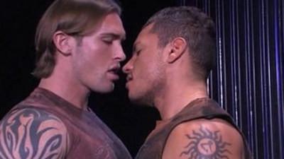 blonde gay  bodybuilder  latinos