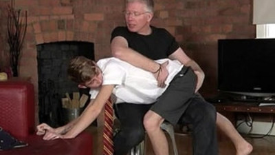 schoolboy  spanking