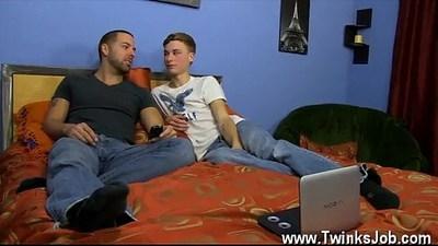 anal  blonde gay  brown hair