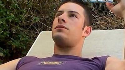 emo boy  gay sex  outdoor