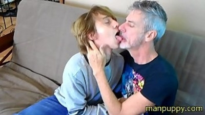 daddy and son  gay sex  kissing boys