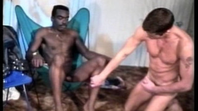 black and white   black gay   gay sex